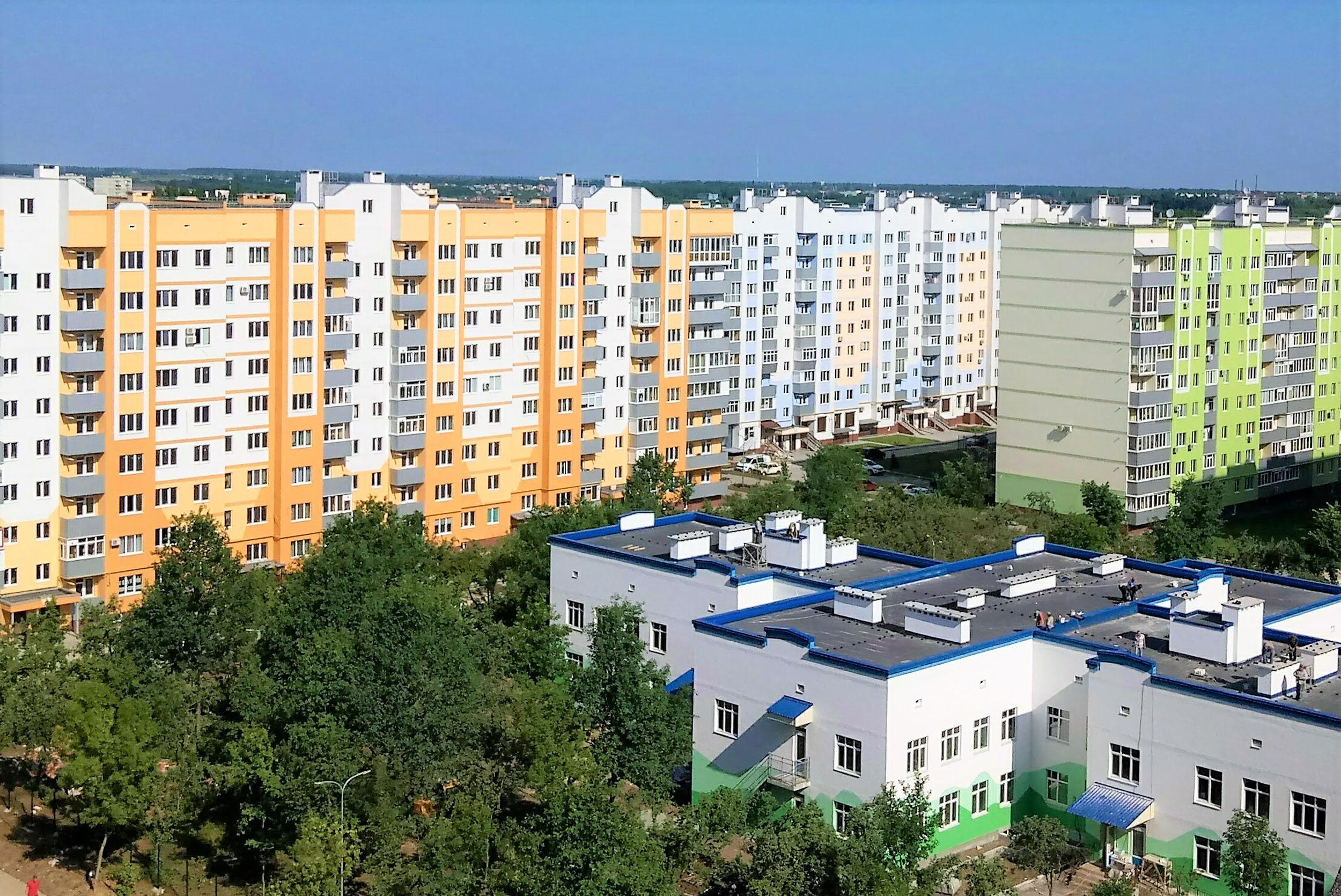 Микрорайон Садовый в Россошенцах